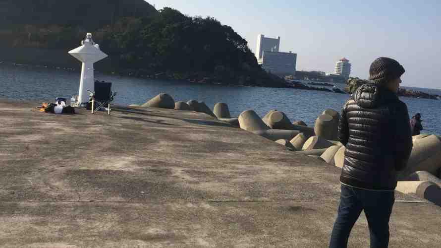 南紀レッドモンスター狙いの釣行見草漁港