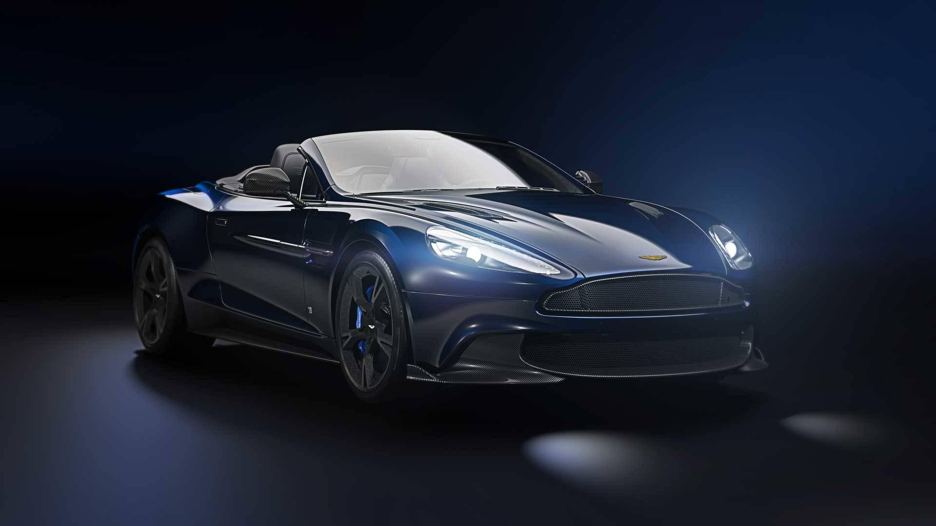 2018 Aston Martin Vanquish S Volante Tom Brady Signature Edition Namastecar