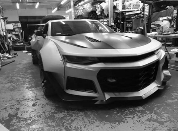 Streetfighter Widebody Chevrolet Camaro Namaste Car