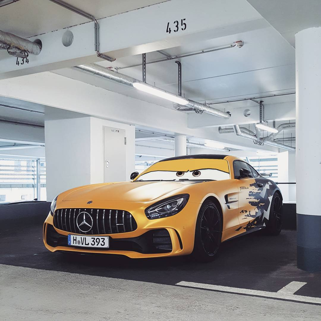 mercedes amg gt r in cars film wrap namaste car. Black Bedroom Furniture Sets. Home Design Ideas