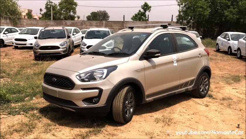Ford Freestyle Titanium Plus Ka Active  Review Specs And Details In Hindi