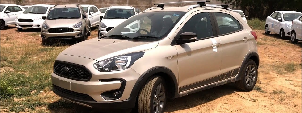 Ford Freestyle Titanium Plus/Ka+ Active 2018: review, specs and details in Hindi - Namaste Car