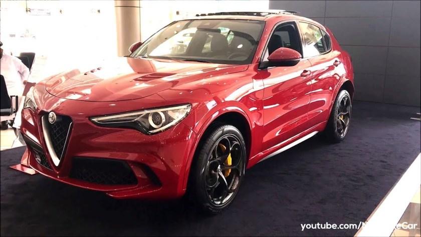 Alfa Romeo Stelvio Quadrifoglio Q4 2018 Review Specs And Details