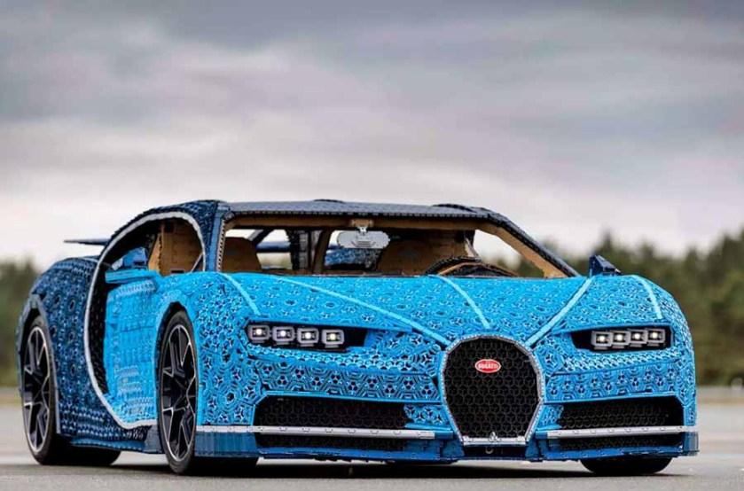 Bugatti Chiron Lego Technic Namaste Car