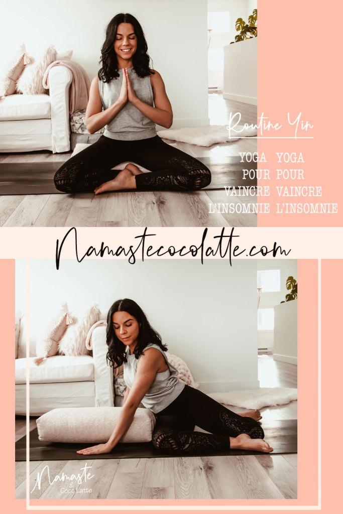 Yin yoga pour vaincre l'insomnie