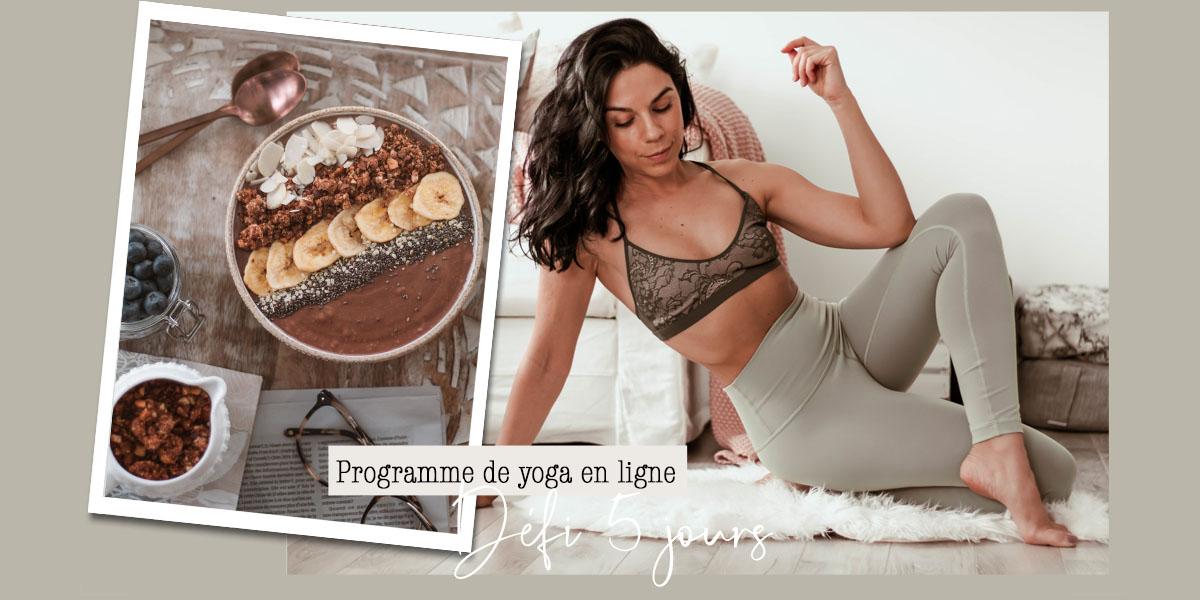 Mon premier programme de yoga en ligne!