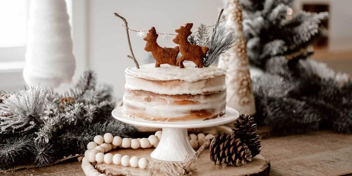 Recette | Naked Cake paléo d'inspiration Woodland