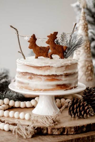 Recette | Naked Cake paléo d'inspiration Woodland | Namasté & Coco Latté