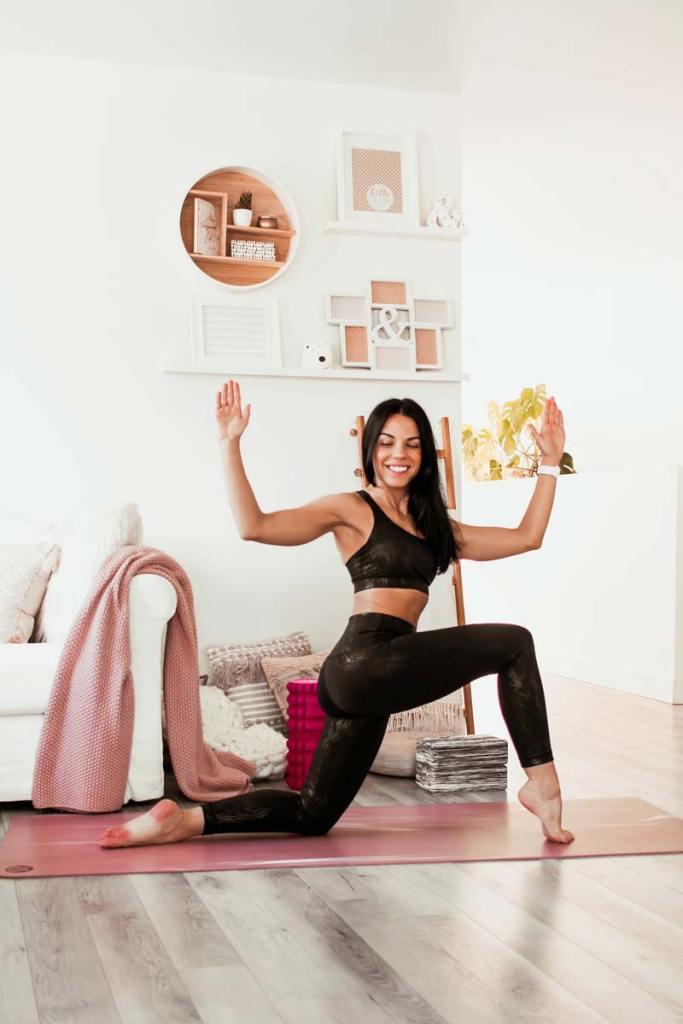 Routine de yoga | Corriger la posture pour soulager l'intestin irritable | Namasté & Coco Latté