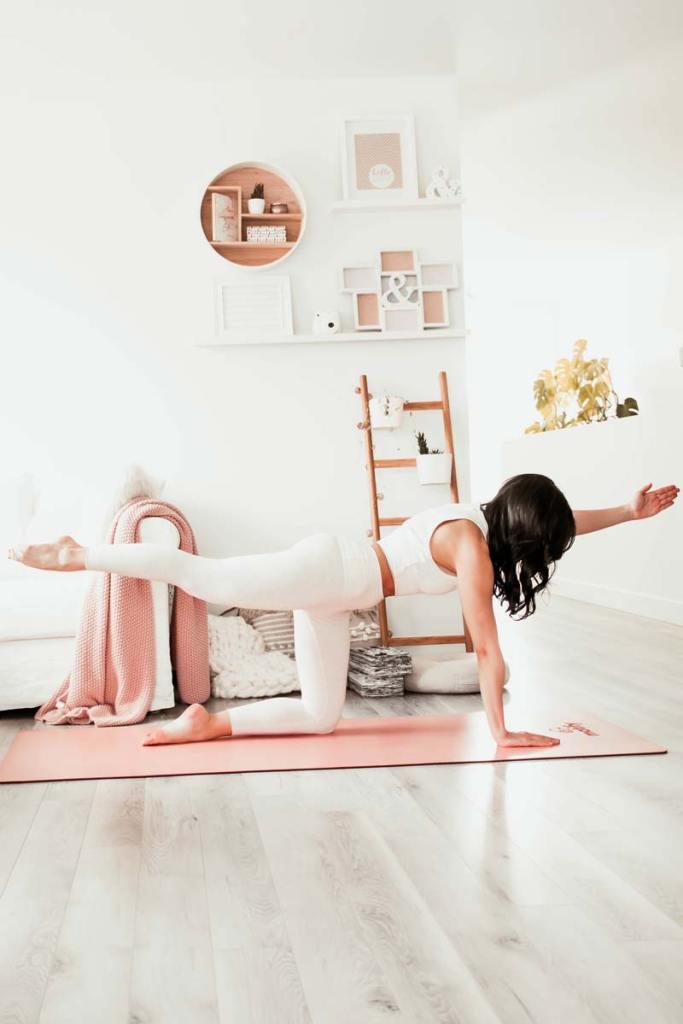 Routine de yoga pour le plancher pelvien | Namasté & Coco Latté
