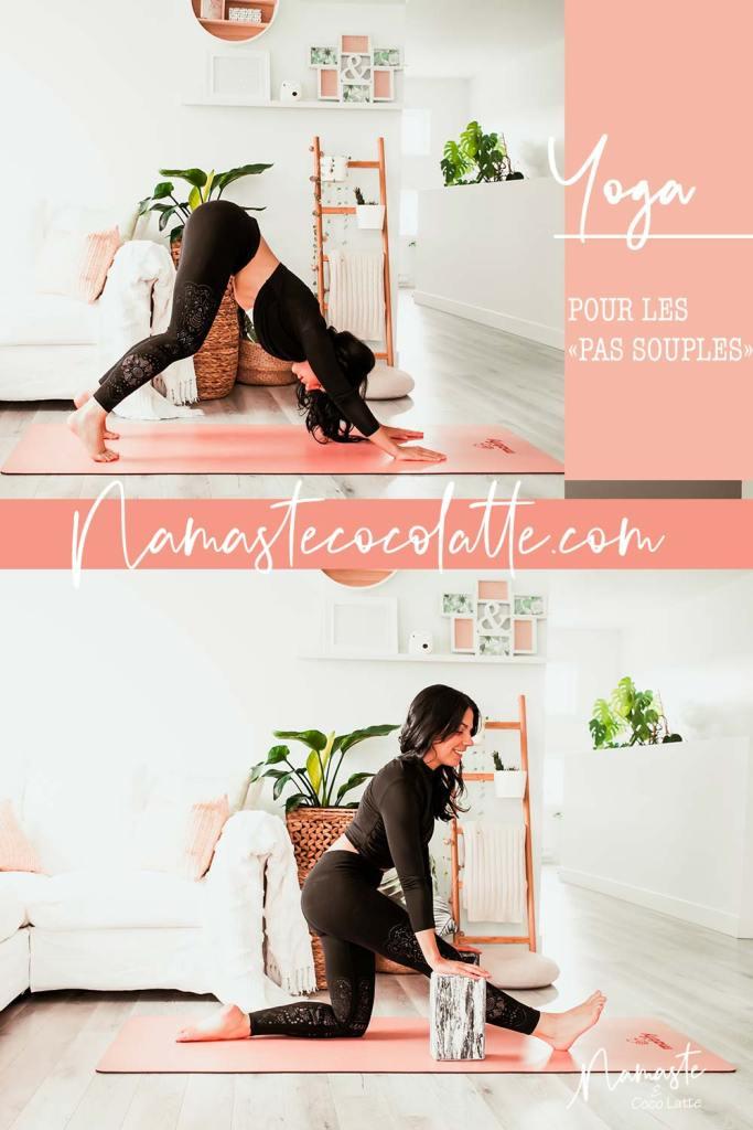 Nouvelle série: yoga pour les «pas souples»   Namasté & Coco Latté