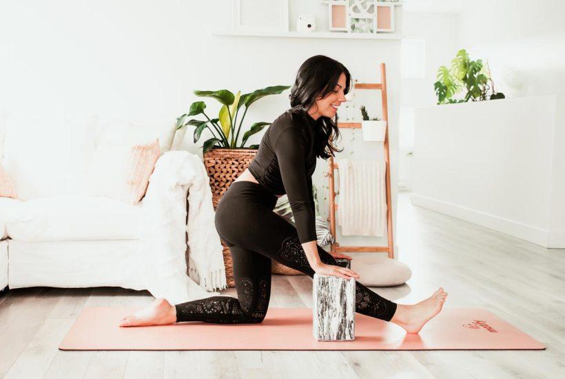 Nouvelle série: yoga pour les «pas souples» | Namasté & Coco Latté