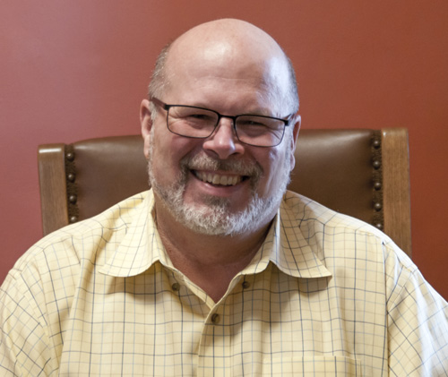 mike patterson headshot founder namaste family services