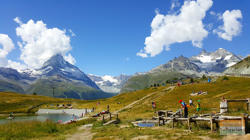 Wolli's adventure park at Sunnega, Zermatt