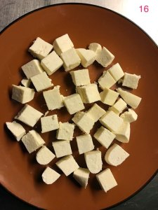 Making paneer - Step 16
