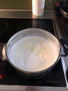 Making paneer - Step 8