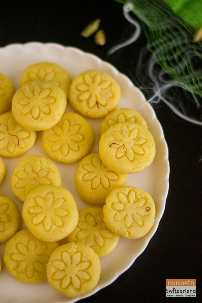 Diwali sweet badam peda