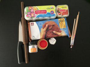 Materials needed for making Diwali DIYs
