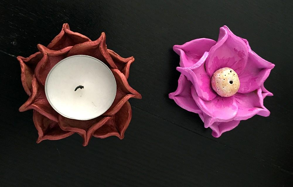 DIY 'Diya' and 'Agarbatti' Holder for Diwali