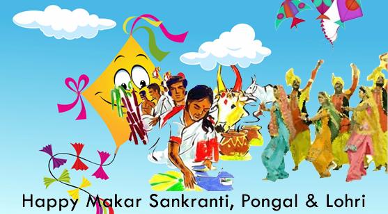 Sankranti, Pongal, Lohri – Let's celebrate!