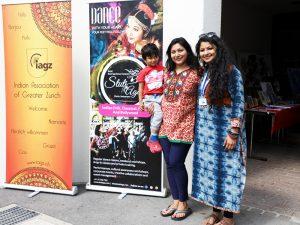 Photo of the organizers Ankita Thaker, president IAGZ, and Stuti Aga