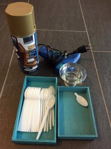 Materials needed for Candle holder for Diwali