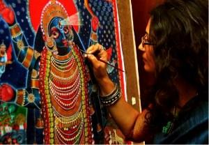Photo of Dithi Mukherjee Painting