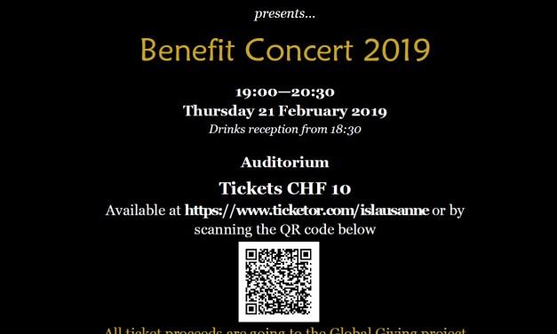 Benefit Concert by International School of Lausanne