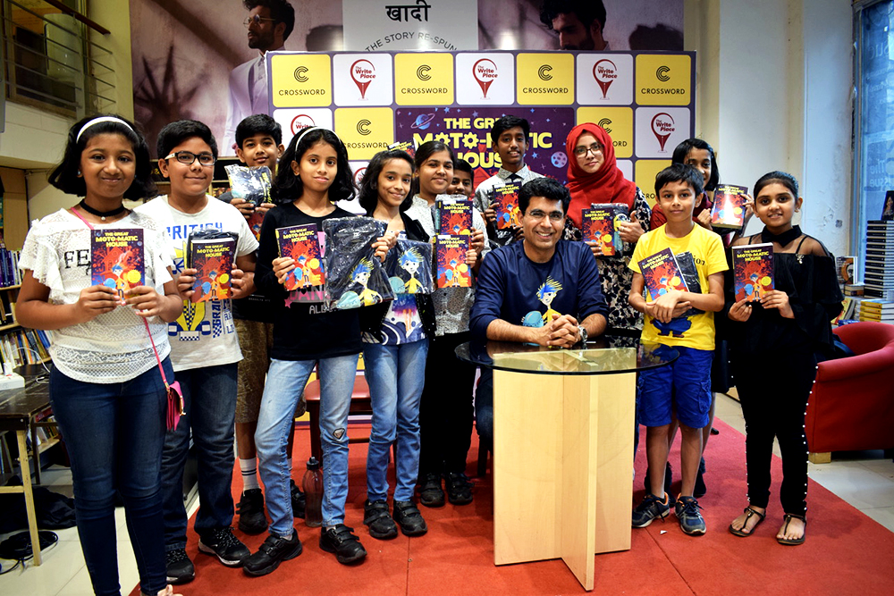 Book launch of The Great Moto-Matic House by Brijesh Luthra