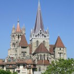 Photo of the city - Lausanne
