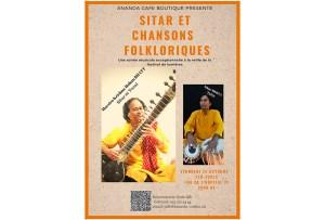 Sitar and Tabla Concert @ Ananda Café-Boutique