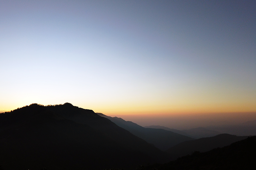 Photo of Sunrise view from Poonhill at 3210m