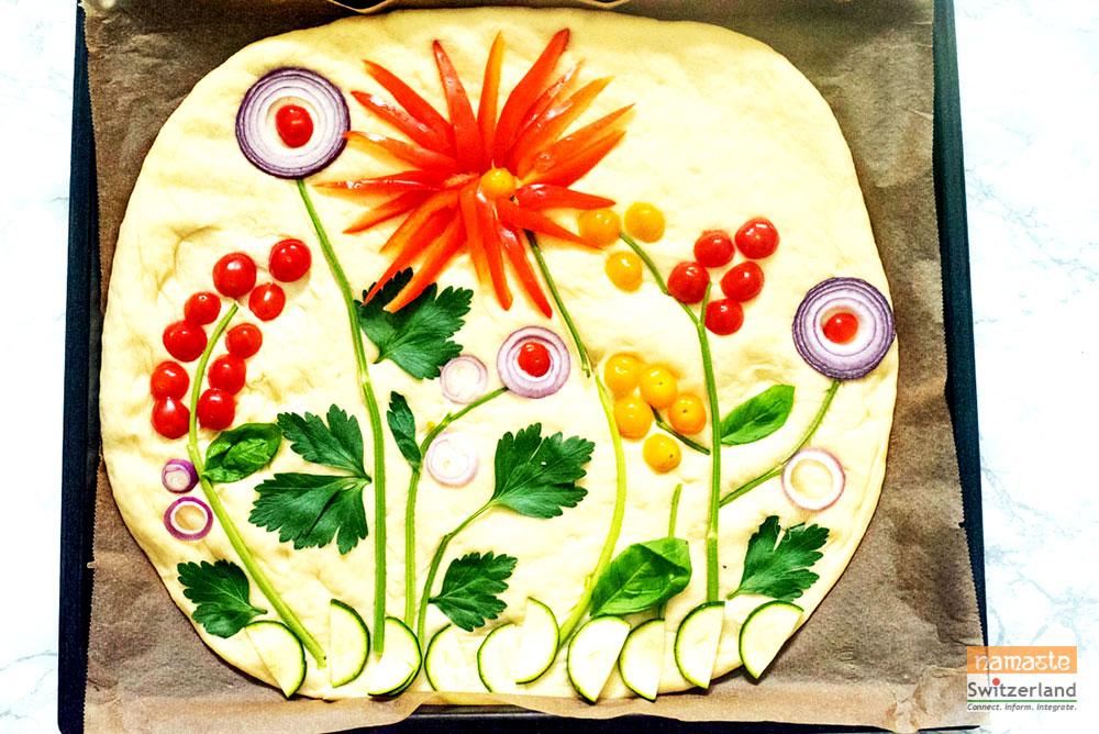 Photograph of Garden Bread before baking