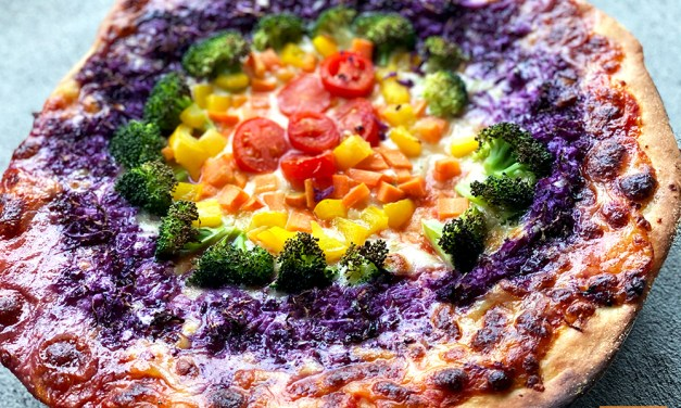 Rainbow Pizza
