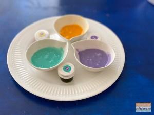 Photo of cookie glaze