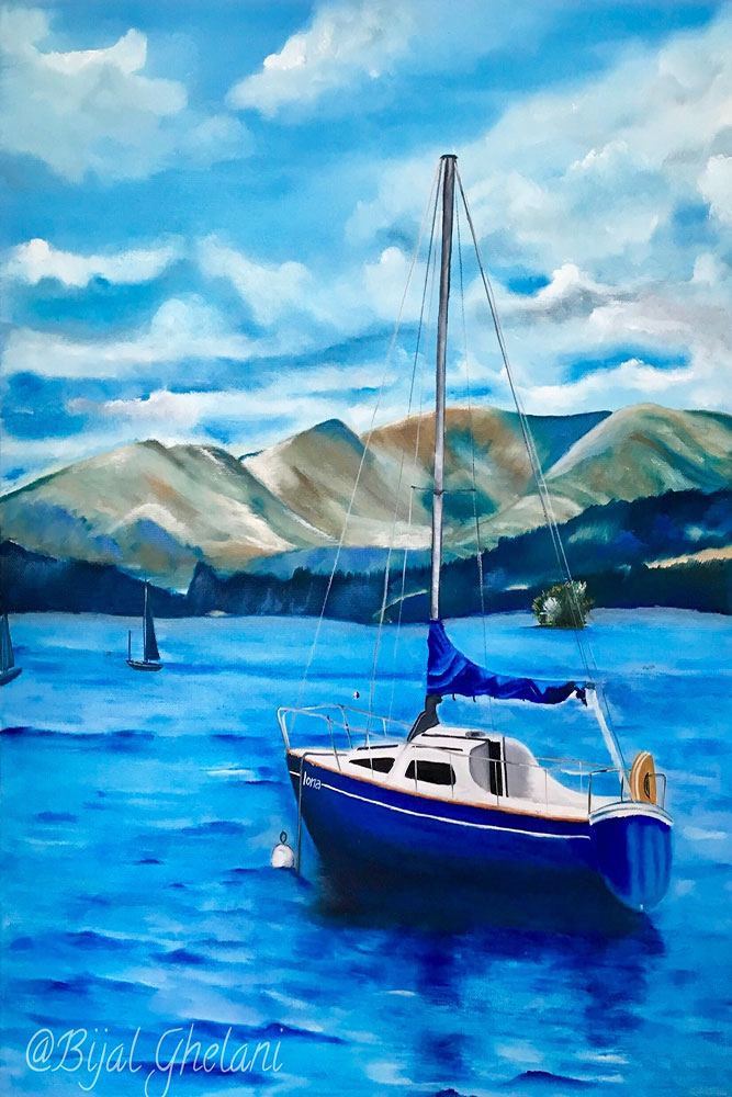 image showing bijal-art-Relaxed-summer