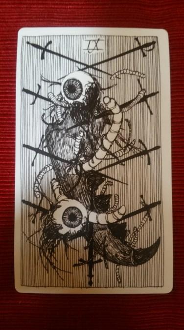 Nine of Swords, Wild Unknown Tarot