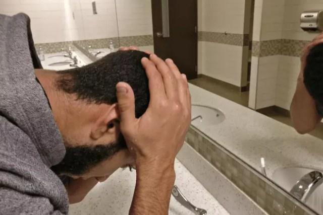 clean your head in wazu