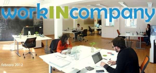 En el centro de Sevilla, el centro de co-working workINcompany