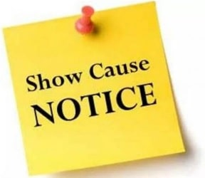 Show cause notice to absent teachers