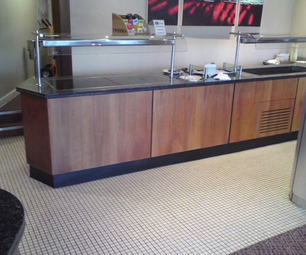 food counter refurbishments