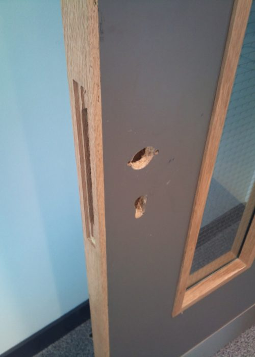 scratched chipped dented wooden door repairs laminated door repairs