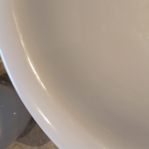 PORCELAIN SINK REPAIRS RESURFACING CHIP SCRATCH CRACK REPAIR AFTER