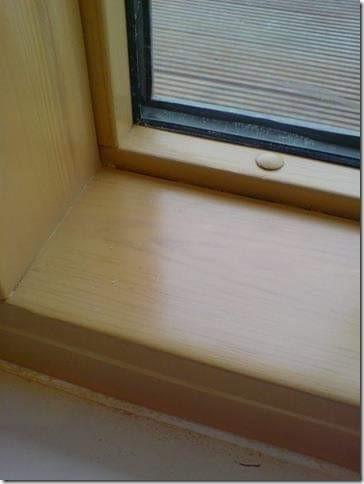 DAMAGED CHIP SCRATCH DENT BURN WINDOW FRAME REPAIR MANCHESTER AFTER