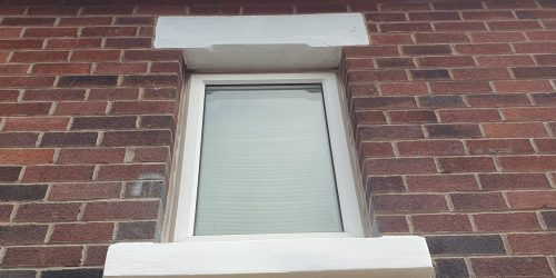 BROKEN STONE WINDOW SILL CILL REPAIR REFURBISHMENT AFTER