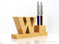 unique pen holder personalized pen and pencil holder with ...