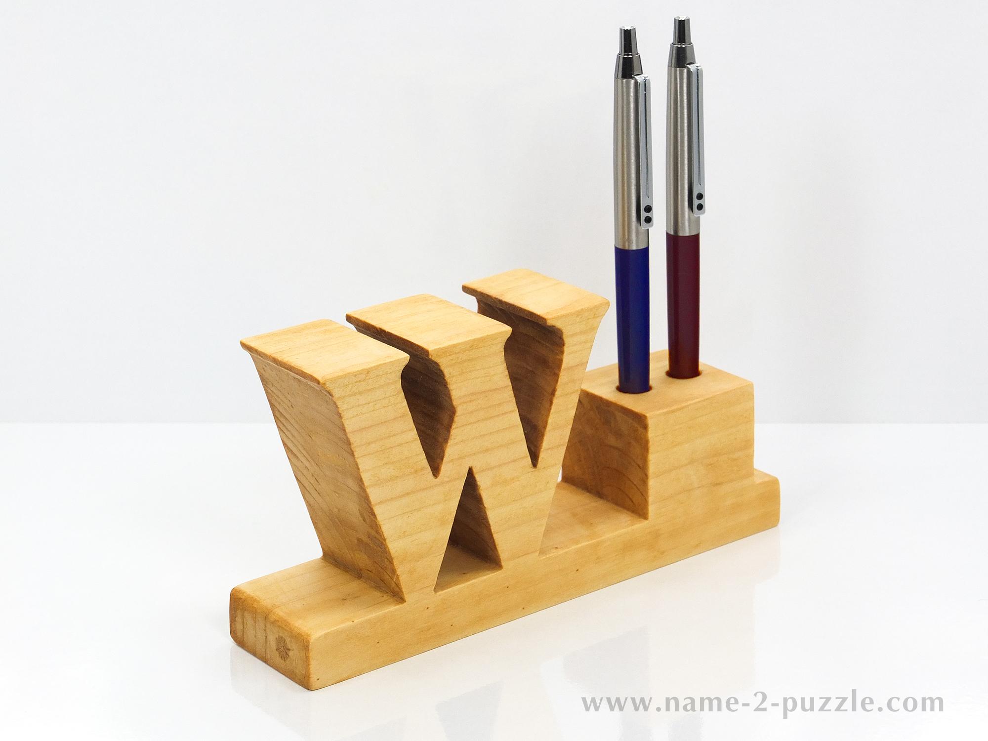 Desk Pen Holders Unique 3d Name Puzzles Best