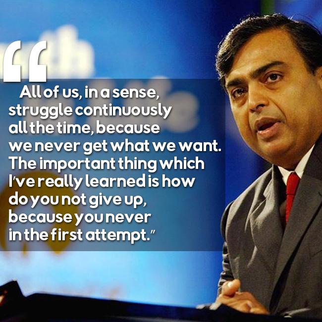 Srk Wallpapers With Quotes Top 15 Mukesh Ambani Quotes That Will Stimulate The