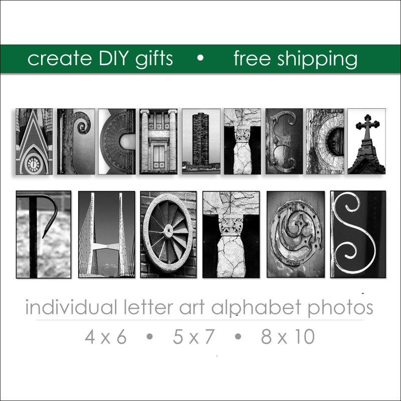 Architectural Letter Prints