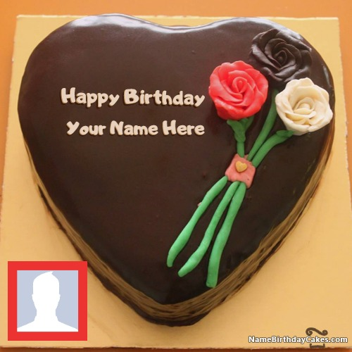 Happy Birthday Cake Name Facebook
